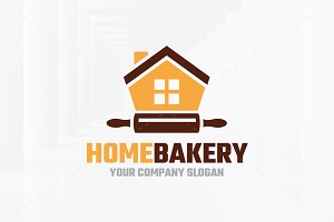 Home Bakery Logo Template