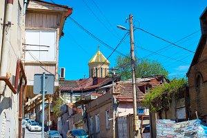 Tbilsi slum street