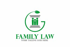 Family Law | Logo Template