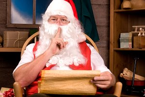 Santa Claus in Rocking Chair List