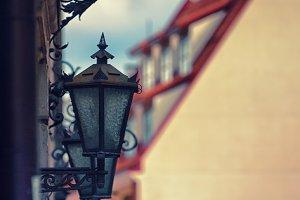 Street lamp. Riga, Latvia
