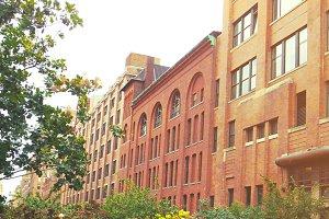 Sunny Brick Buildings