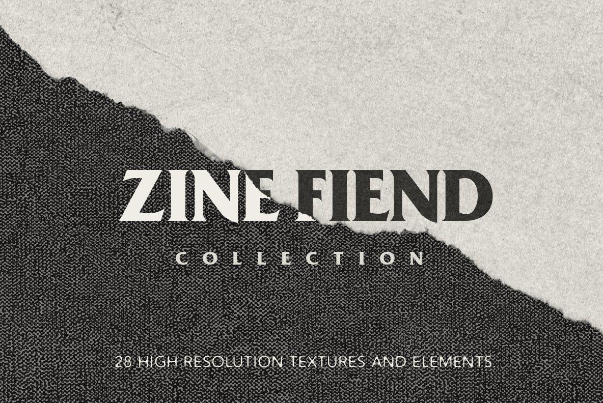 zine fiend texture collection graphics creative market. Black Bedroom Furniture Sets. Home Design Ideas