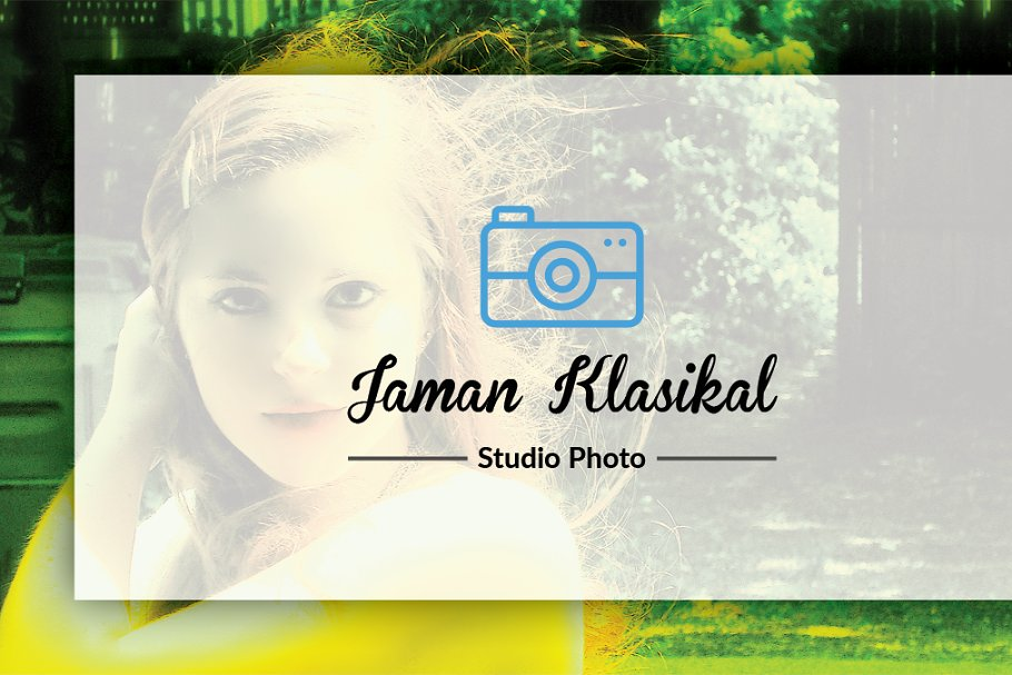 Abstrack Photographer Business Card in Business Card Templates - product preview 4