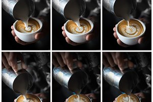 coffee latte art