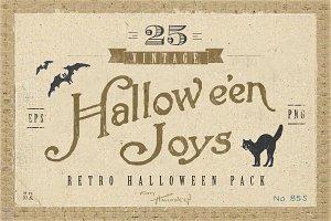 Retro Halloween Pack
