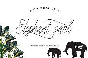 Elephant park font duo