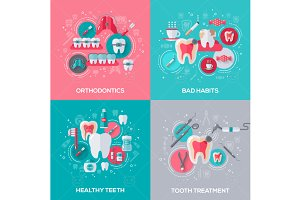 Dental concepts set