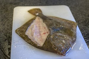 Filleted tarbot