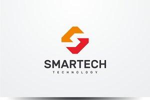 Smart Tech - Letter S Logo
