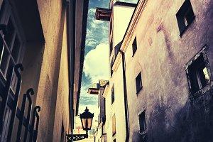 The walls and windows. Riga