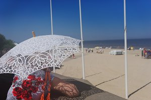 Summer. Baltic beach. Jurmala