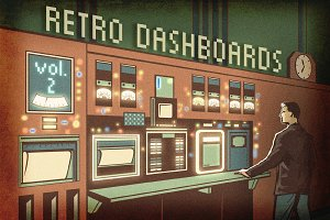 Retro Dashboards vol.2