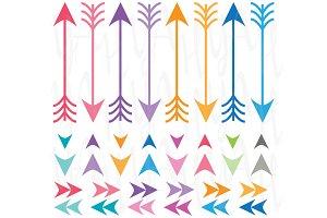 Digital Arrow Clip Art