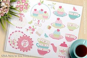 Princess Tea Garden (2) Clipart
