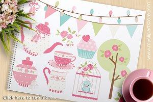 Princess Tea Garden (1) Clipart