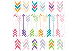 Rainbow Color Arrow