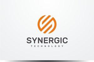Synergic - Letter S Logo