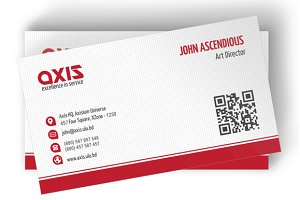 Axis Business Cards