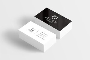 3 vector photographer business cards