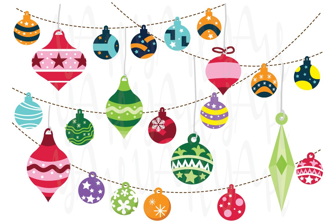 Christmas Ornaments ~ Illustrations ~ Creative Market