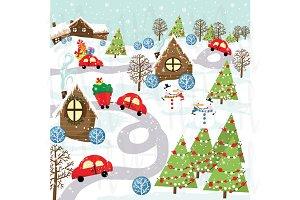 Christmas City Invitaion