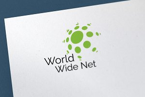 World Wide Net Logo Template