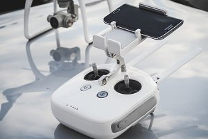 White Drone controller