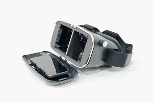vr headset with mobile phone