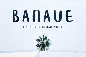Banaue Extended Brush Font