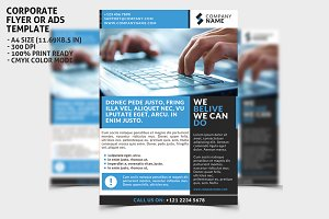 Corporate Flayer Ads Template 1
