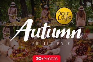 Autumn pack/ 30+pics • 2color styles