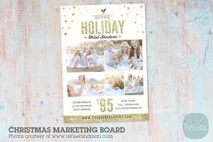 IC024 Christmas Marketing Board