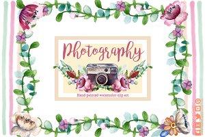 Camara vintage clip art