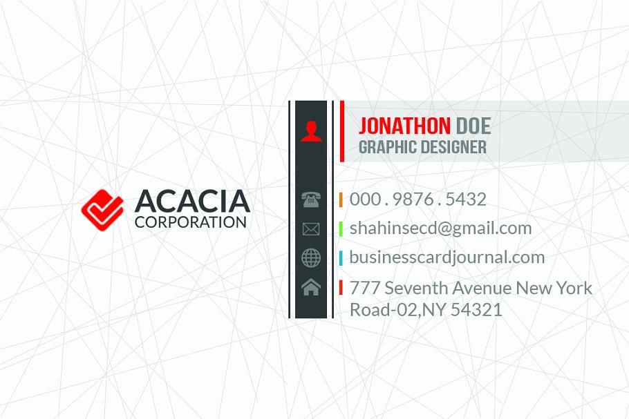 Khaaj Business Card