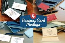 4Photorealistic Business Card Mockup