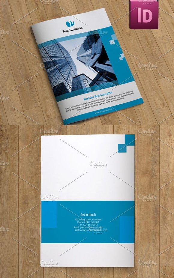 Business brochure 10 pages v46 brochure templates for Brochure templates pages