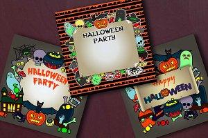 3 Halloween Cards