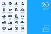 Store icons