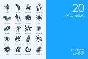 Organisms icons