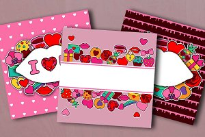 3 Valentines Cards