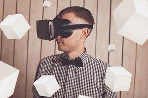 VR glasses.