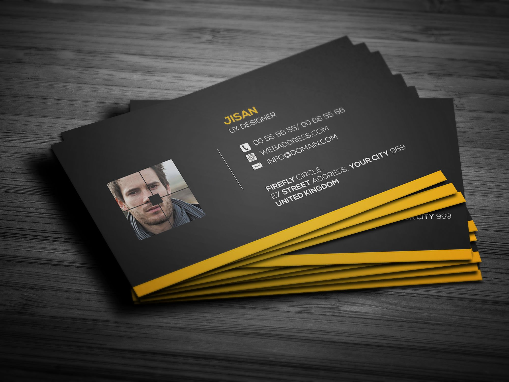 Creative & Pro Business Card Design ~ Business Card Templates ...