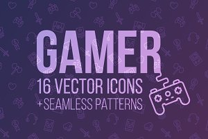 GAMER: icons and patterns