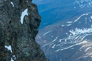 Alp Mountain rock view