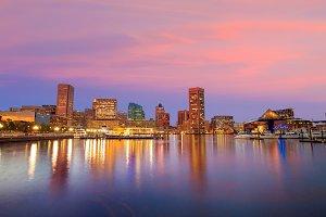 Baltimore sunset