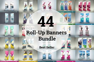 44 Roll-Up Banners Bundle - SK