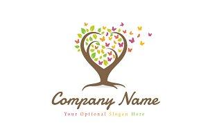 Tree of Butterflies Logo