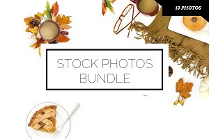 Fall Stock Photo Bundle (13 images)