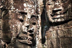 Buddha. Angkor Wat complex, Cambodia